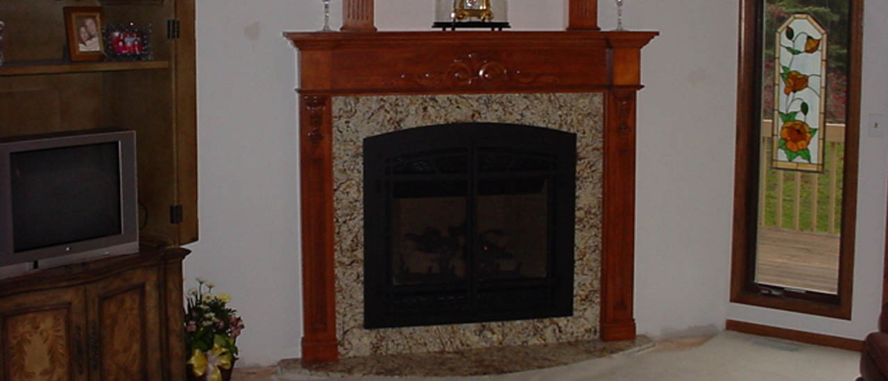 Indoor Fireplace